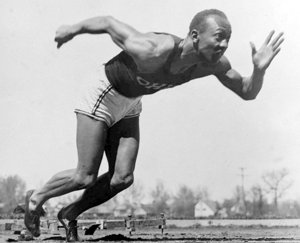 Jesse Owens, 1936, AP File Photo