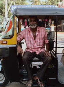 Kumar, a friend and skilled auto rickshaw driver